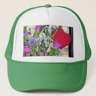 Valentine Flowers Trucker Hat