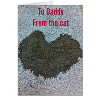 Valentine for Daddy from the Cat Card