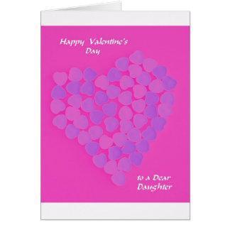 Valentine for Daughter -- Valentine Candy Card