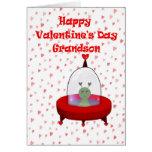 Valentine for Grandson Card