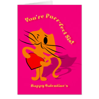 Valentine for Sis Card