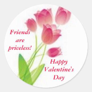 """""""Valentine Friends"""" Stickers"""