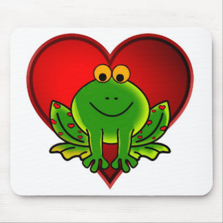 Valentine Frog Mouse Pad