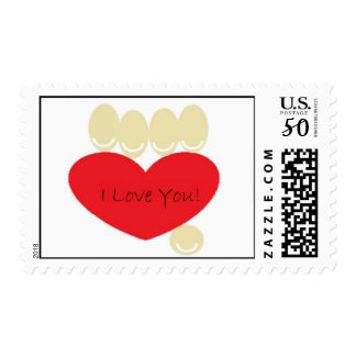 Valentine from God - I love You Message Postage