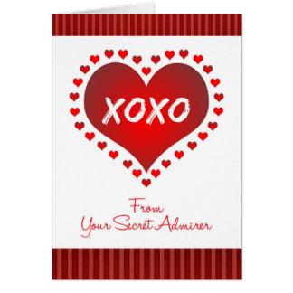 Valentine From Secret Admirer Card