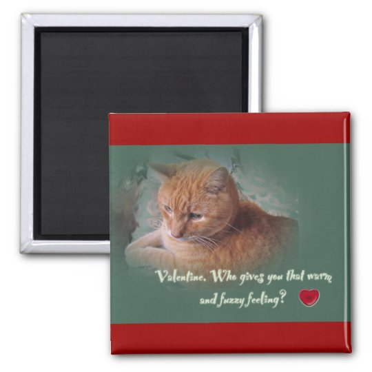 Valentine From the Cat Magnet