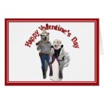 Valentine from the Old West Dogs Card