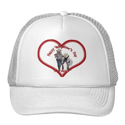 Valentine from the Old West Dogs Mesh Hat