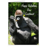 VALENTINE FROM YOUR GORILLA card