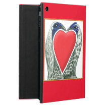 Valentine Game Chickens iPad Air Cover