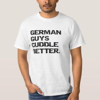 valentine: german guys cuddle better T-Shirt