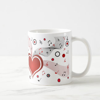 Valentine Gift Idea Love Music Mug