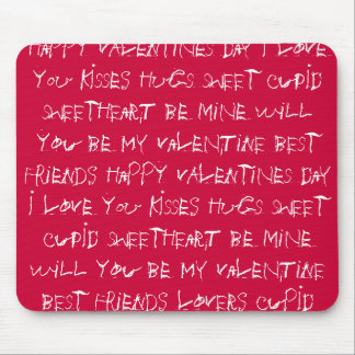 Valentine Gift Ideas for Men and Women Mouse Pad