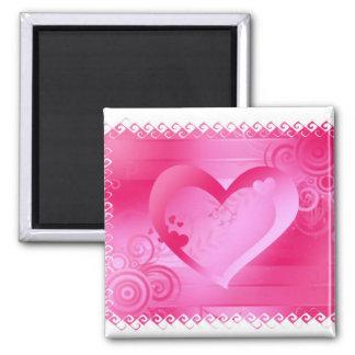 Valentine Gifts Square Magnet Magnet