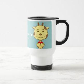 Valentine Giraffe Mug