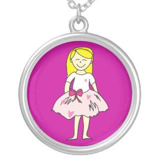 Valentine Girl Pendant Necklace