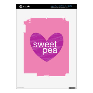 Valentine Gram Decal For iPad 3