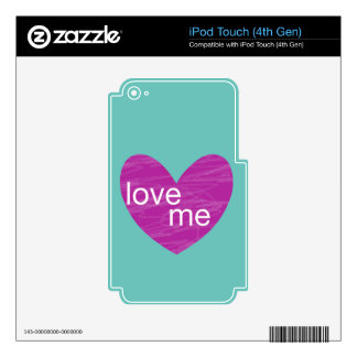 Valentine Gram Decal For iPod Touch 4G