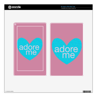 Valentine Gram Decals For Kindle Fire