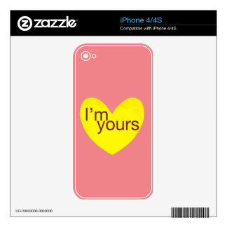 Valentine Gram Skins For The iPhone 4S