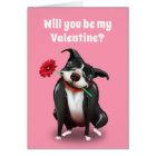 Valentine Greeting Cards | Pit Bull Dog Lover