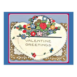 Valentine Greeting Post Cards
