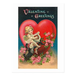 Valentine Greetings (2) Postcard
