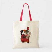 Valentine Guinea Pig Love Tote Bag