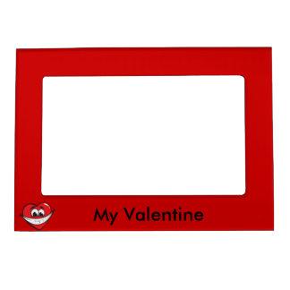 Valentine Happy Heart frame Magnetic Photo Frame