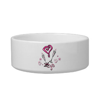 Valentine Heart and Glasses Bowl