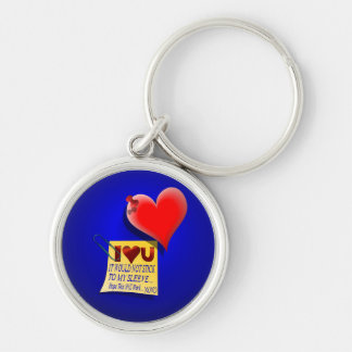 Valentine Heart and Love Note Keychains