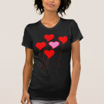Valentine Heart Balloons T-shirt