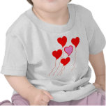 Valentine Heart Balloons T Shirts