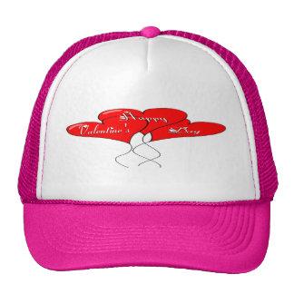 Valentine Heart Balloons Trucker Hat