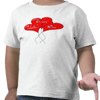 Valentine Heart Balloons Tee Shirt