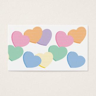 Valentine Heart Business Card