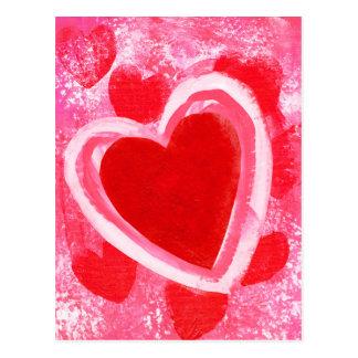 Valentine Heart by VictoriaShaylee Postcard
