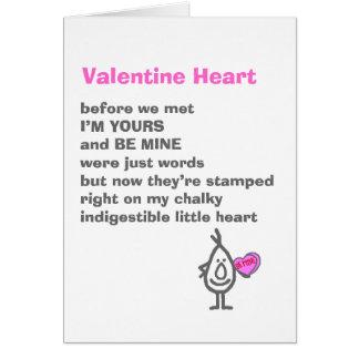 Valentine Heart Card