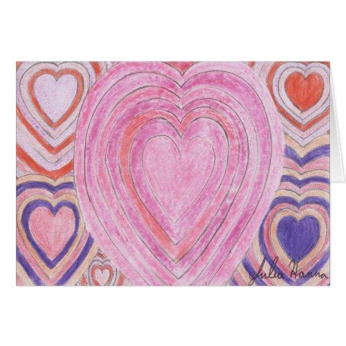 Valentine Heart Card by Julia Hanna