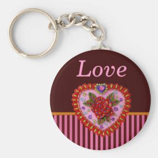 Valentine Heart Keychain