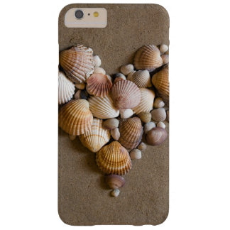 Valentine Heart Made with Shells Barely There iPhone 6 Plus Case
