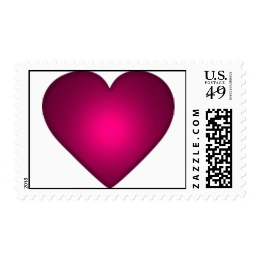 Valentine  Heart  Name Your Postage