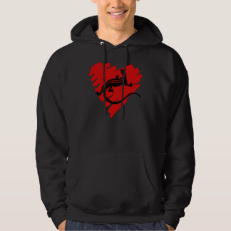 Valentine Heart Newt Hoodie