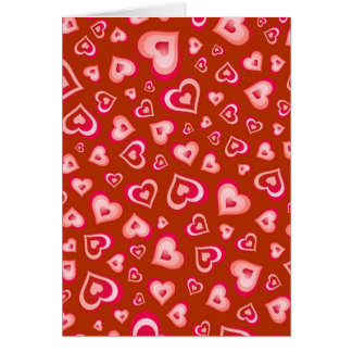 Valentine Heart of Hearts No.3 Card