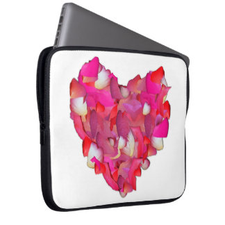 Valentine Heart of Roses Laptop Computer Sleeves