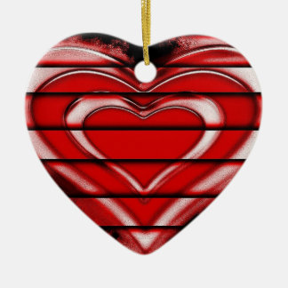 Valentine Heart Ornament for Valentine Gift