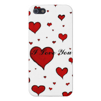 Valentine Heart Pattern iPhone 5/5S Covers