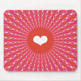 Valentine Heart Pop Mouse Pad