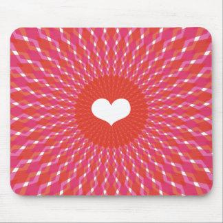Valentine Heart Pop Mouse Pad