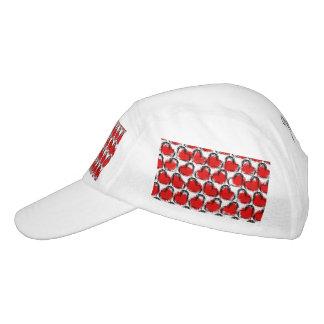 Valentine Heart Rows Headsweats Hat